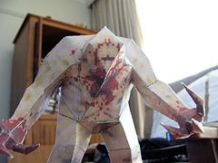 Shambler Papercraft from Quake