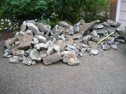 By brewbooks from near Seattle, USA (The Rubble pile - Garden Rubble Project) [CC-BY-SA-2.0 (http://creativecommons.org/licenses/by-sa/2.0)], via Wikimedia Commons