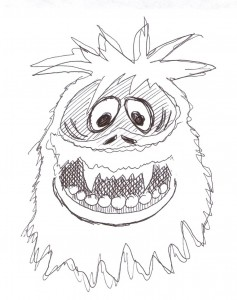 Abominable Snowman Coloring Pages Abominable Snowman Printable ...