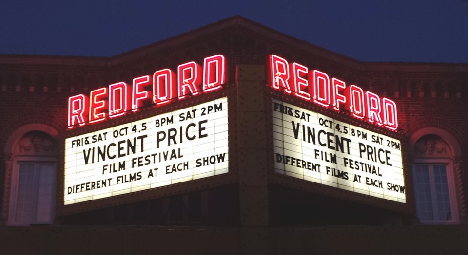 Redford Theatre Marquee