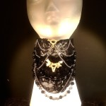 Gothic Victorian Lace Collar-- Photo credit Poking Dead Things
