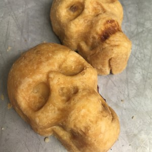Skull Pies from Why Not Pie